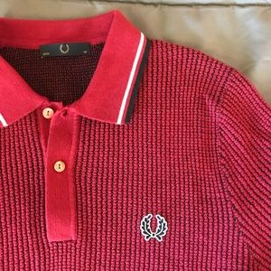 Fred Perry textured polo shirt